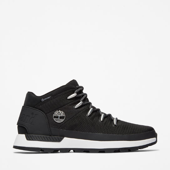 Sprint Trekker Mid Hiker for Men in Black | Timberland