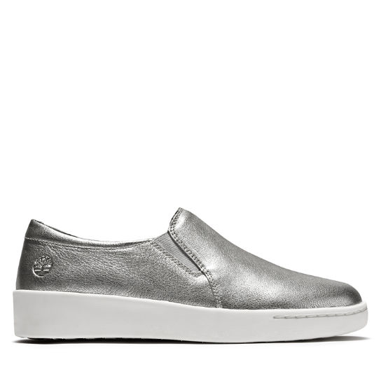 Teya Slip On Shoe for Women in Silver | Timberland