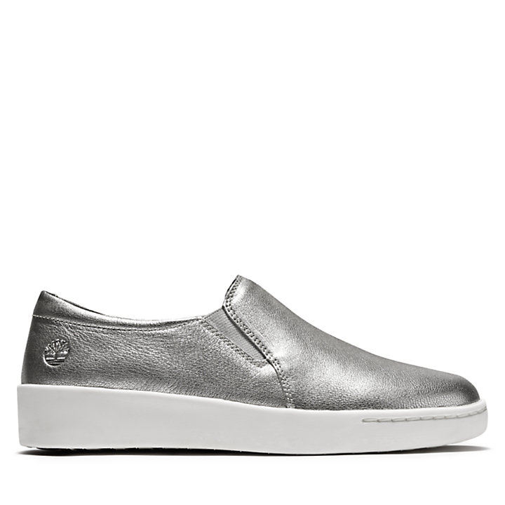 Teya Slip On Shoe for Women in Silver-
