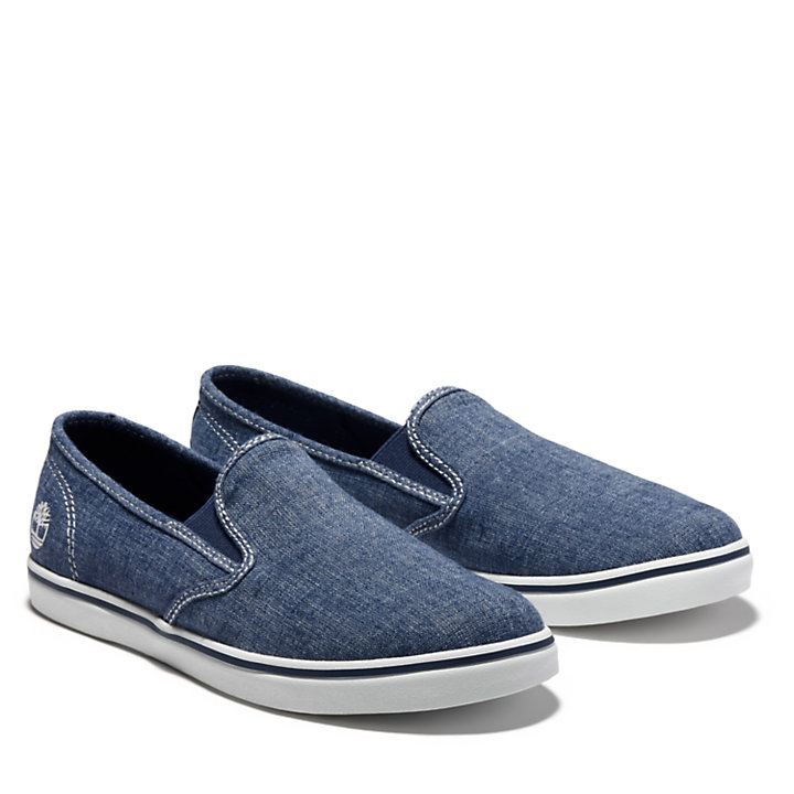 Dausette Canvas Slip-On for Women in Blue-