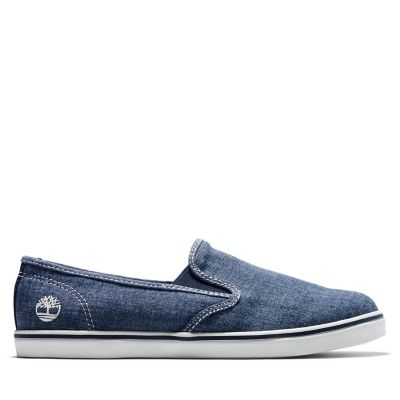 Dausette+Canvas+Slip-On+for+Women+in+Blue