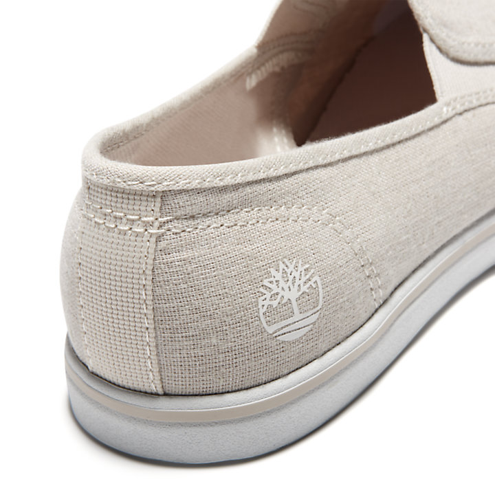 Slip-On da Donna in Tela Dausette in beige-