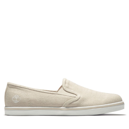 Dausette Canvas Slip-On for Women in Beige | Timberland