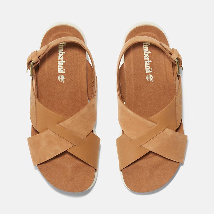 Santa Monica Sunrise Sandal for Women in Light Brown-