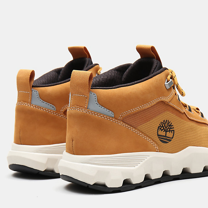 Urban Exit High Top Sneaker for Men in Yellow-