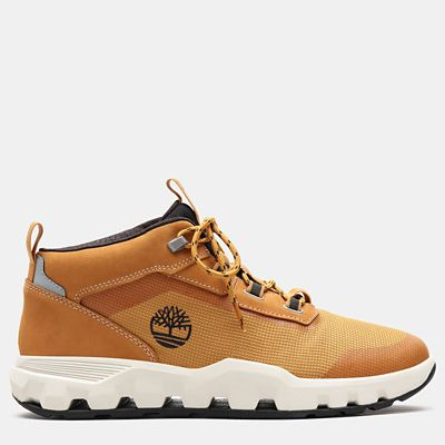 Urban+Exit+High+Top+Sneaker+for+Men+in+Yellow
