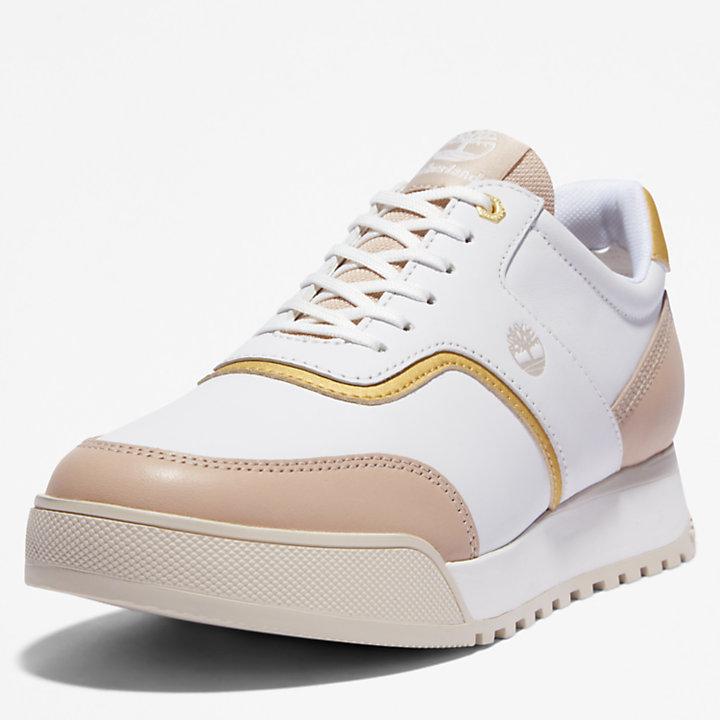 Miami Coast Ledersneaker für Damen in Weiß-