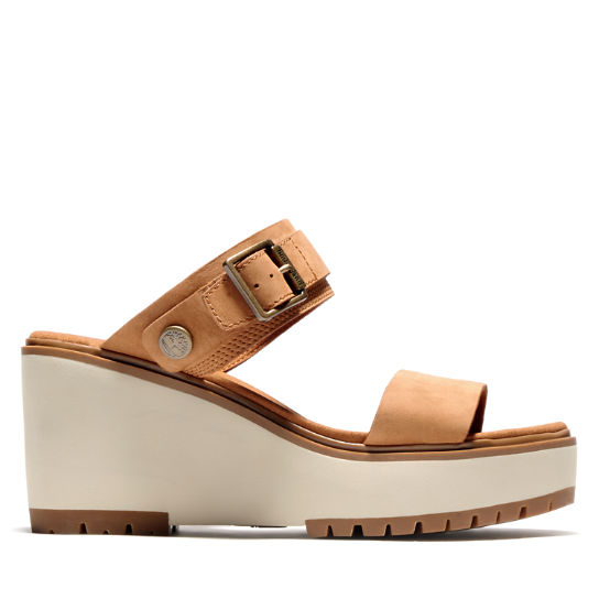 Koralyn Wedge Sandal for Women in Brown | Timberland