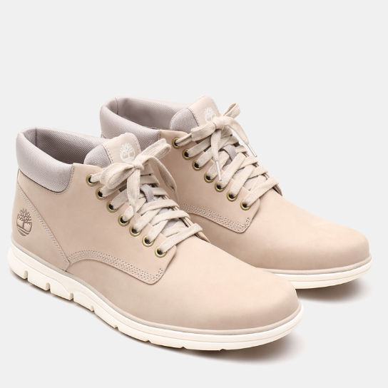 Bradstreet Leather Chukka for Men in Beige | Timberland