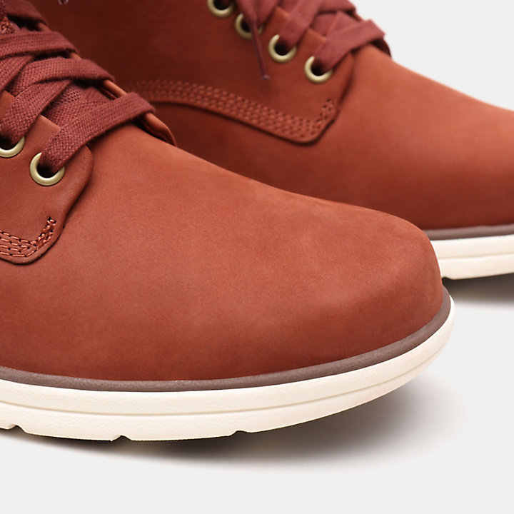 Bradstreet Leather Chukka voor Heren in rood-