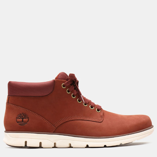 Bradstreet Leather Chukka for Men in Red | Timberland