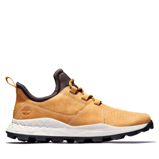 Brooklyn Lace-Up Sneaker for Men in Yellow | Timberland