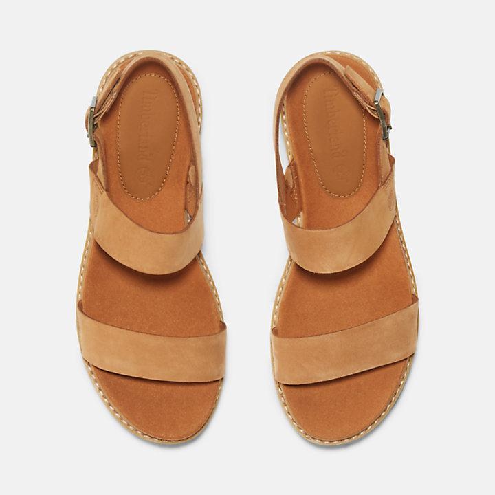 Sandalia Safari Dawn para Mujer en marrón-