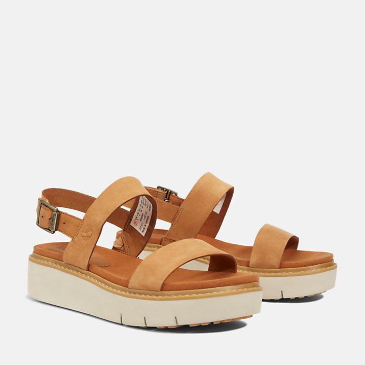 Sandale Safari Dawn pour femme en marron-