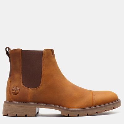 Elmhurst+Chelsea+Boot+for+Men+in+Brown