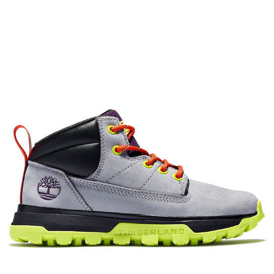 Treeline Mid Hiker for Junior in Grey | Timberland