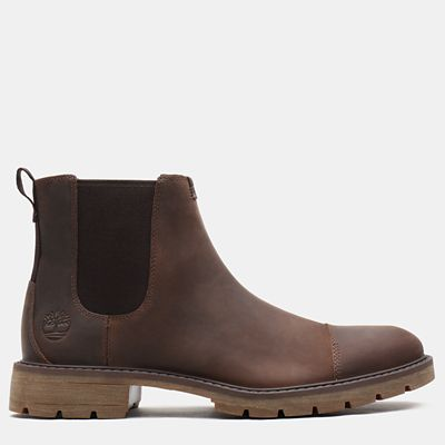 Elmhurst+Chelsea+Boot+for+Men+in+Dark+Brown