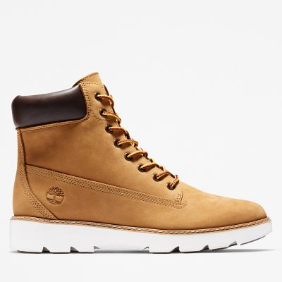 Keeley+Field+6-Inch+Boot+voor+Dames+in+geel