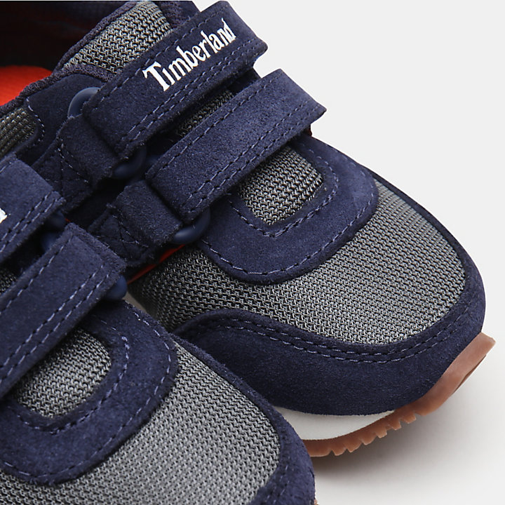 City Scamper Oxfords für Kleinkinder in Navyblau-