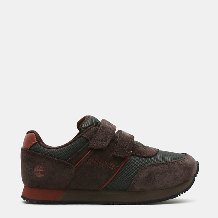 City Scamper Oxford for Toddler in Brown-