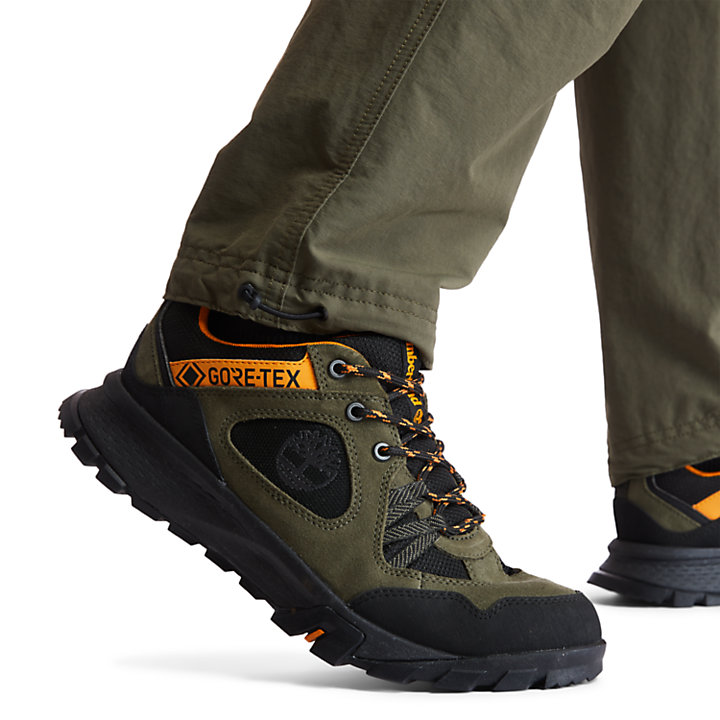 Garrison Trail GORE-TEX® Low Hiker for Men in Dark Green-