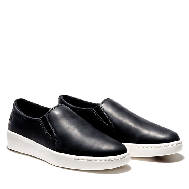 Teya Slip On Shoe for Women in Black-