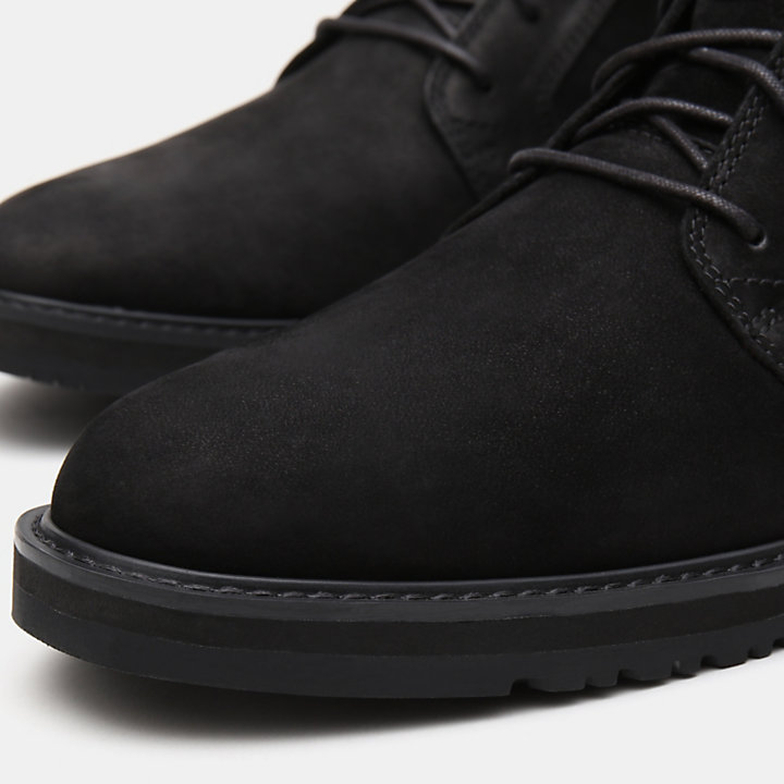 Wesley Falls Chukka for Men in Black-