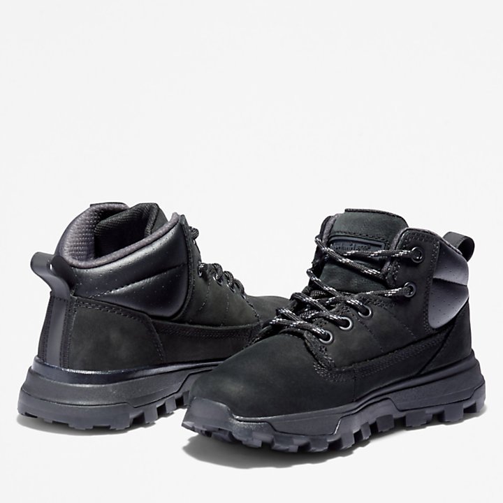 Treeline Mid Hiker for Junior in Black-