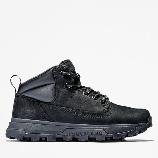 Treeline Mid Hiker for Junior in Black | Timberland