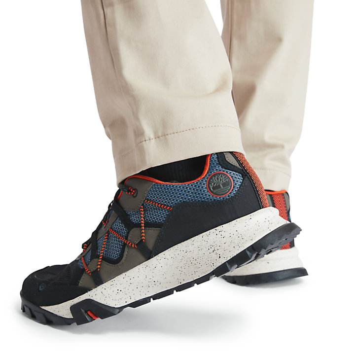 Garrison Hiking Sneaker for Men in Blue-