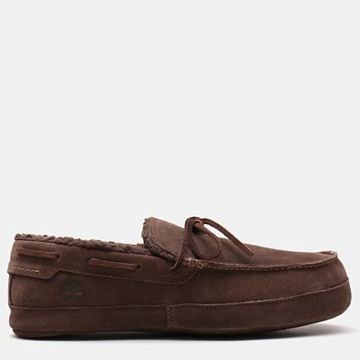 Torrez+Slipper+for+Men+in+Dark+Brown