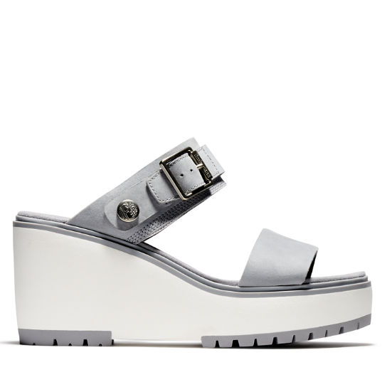 Koralyn Wedge Sandal for Women in Grey | Timberland