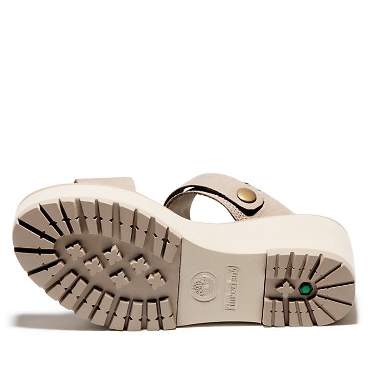 Sandale compensée Koralyn pour femme en beige-