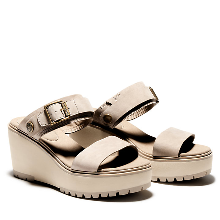 Koralyn Wedge Sandal for Women in Beige-