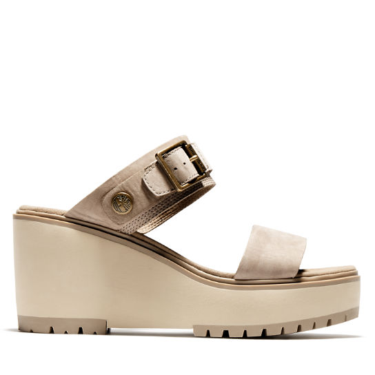 Koralyn Wedge Sandal for Women in Beige | Timberland
