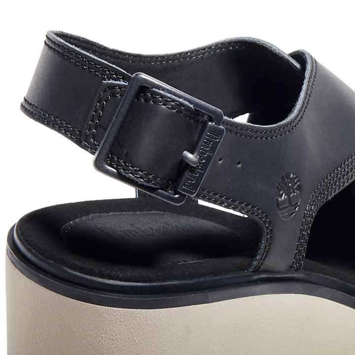 Koralyn Wedge Sandal for Women in Black-