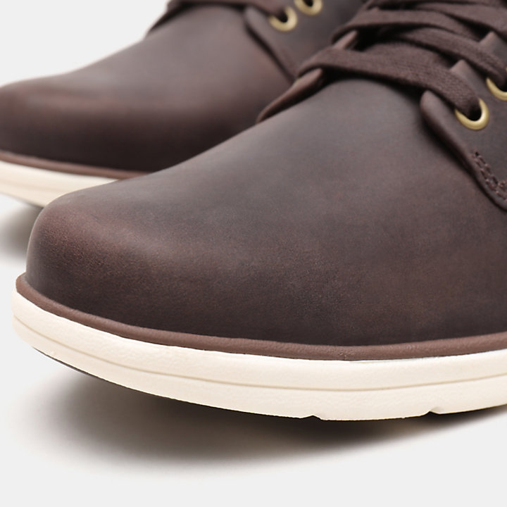 Bradstreet Leather Chukka for Men in Dark Brown-
