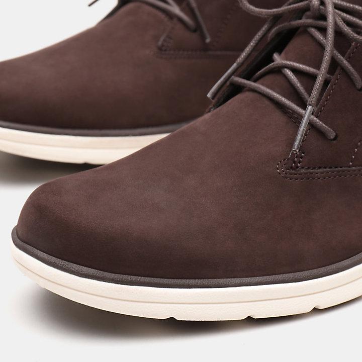 Bradstreet Plain Toe Chukka voor Heren in donkerbruin-