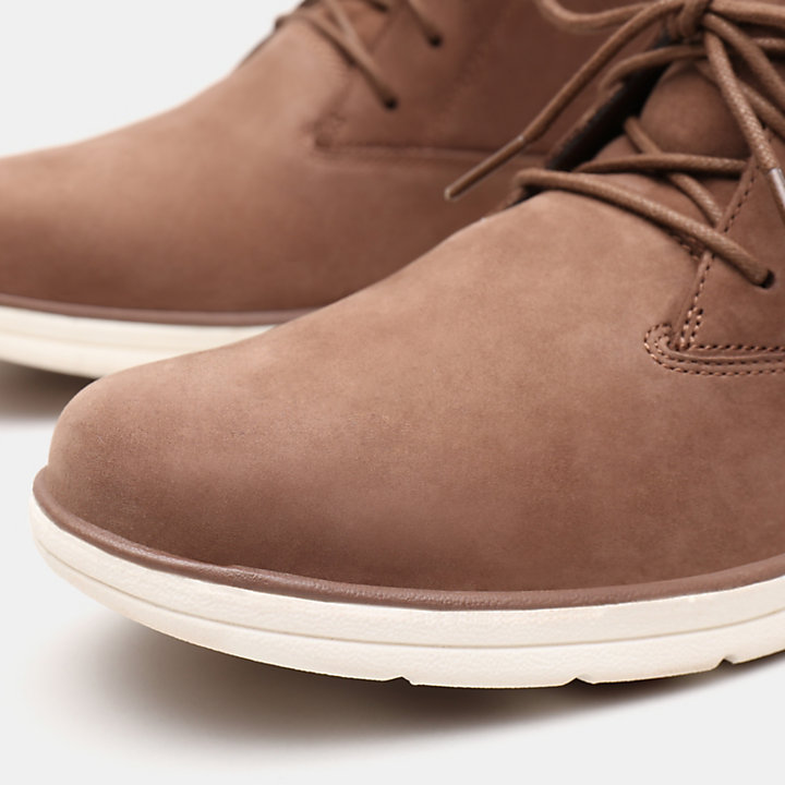 Bradstreet Plain Toe Chukka for Men in Brown-