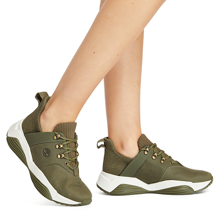 Emerald Bay Sneaker voor Dames in groen-