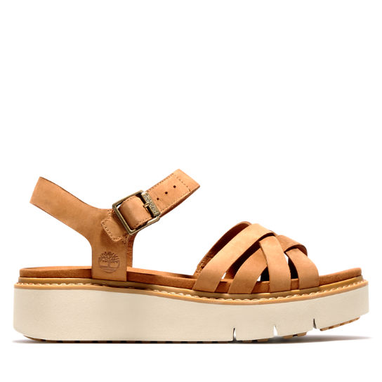 Safari Dawn Strappy Sandal for Women in Brown | Timberland