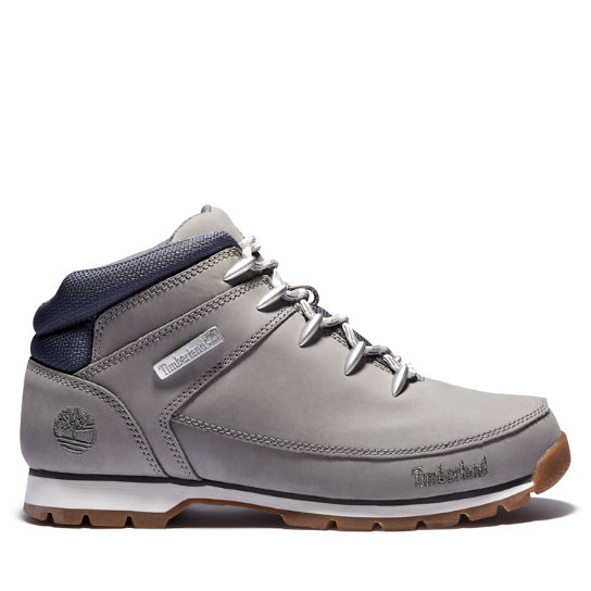 Euro Sprint Mid Hiker for Men in Grey | Timberland