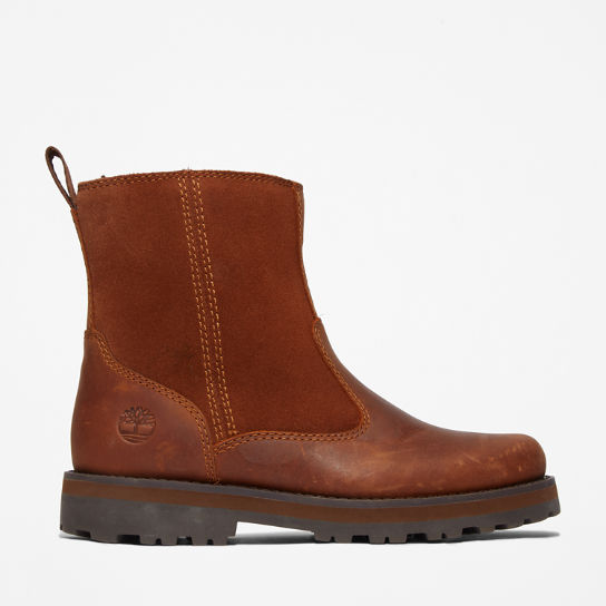 Courma Kid Fleece Lined Boot for Youth in Brown | Timberland