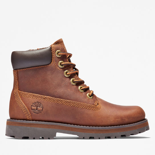 Courma Kid 6 Inch Boot for Youth in Brown | Timberland