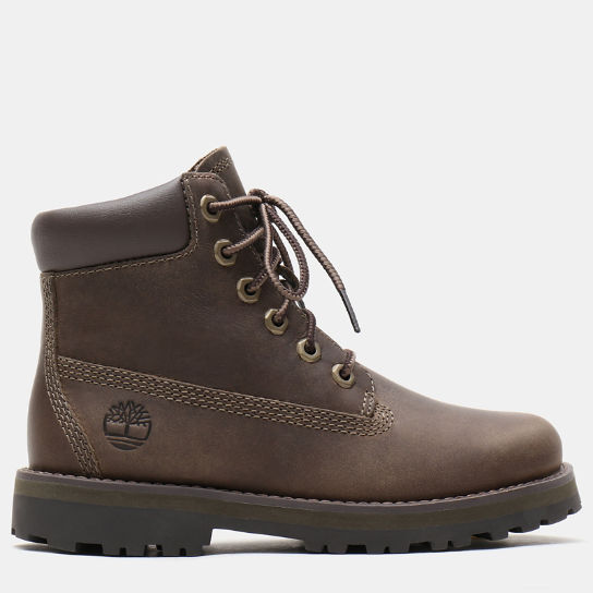 Courma Kid 6 Inch Boot for Youth in Grey | Timberland