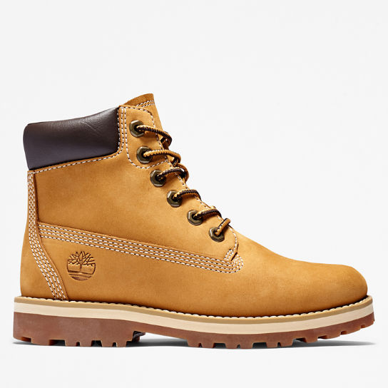 Courma Kid 6 Inch Boot for Youth in Yellow | Timberland