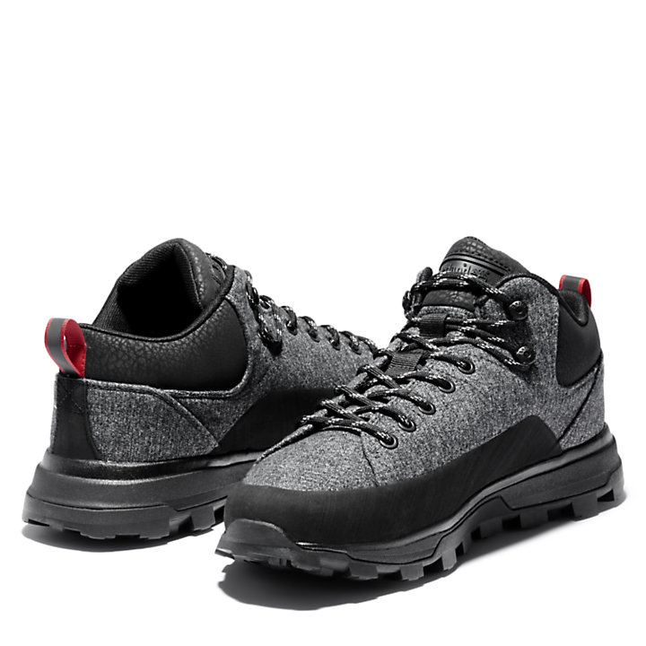 Basket National Geographic x Timberland® Treeline pour homme en gris-
