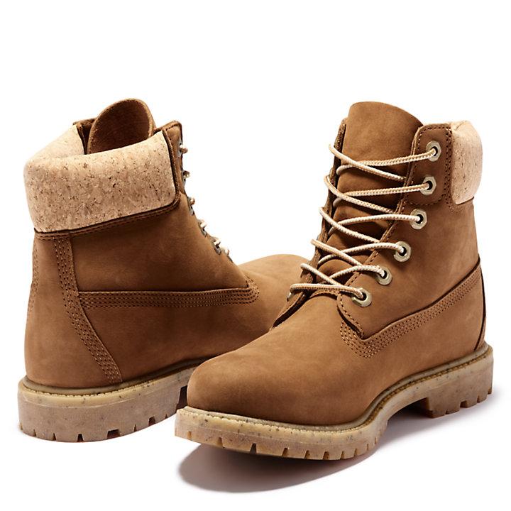 6-Inch Boot Premium pour femme en marron-