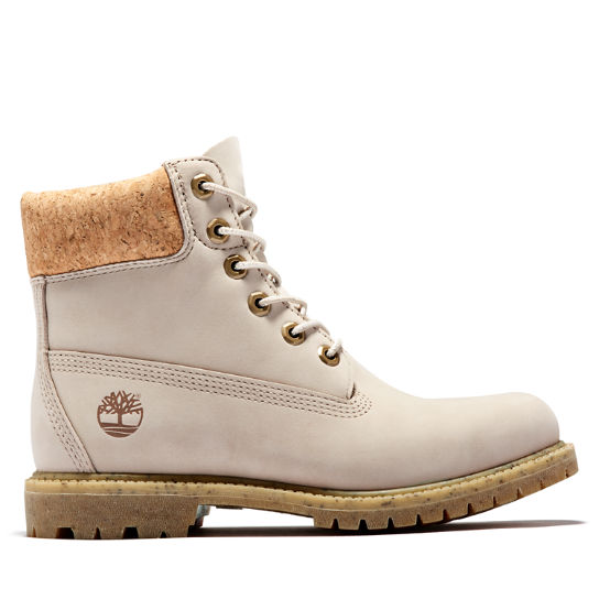 6 Inch Premium Boot for Women in Beige | Timberland