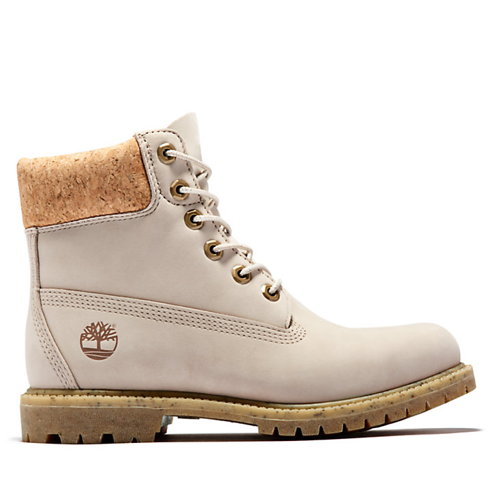 6 Inch Premium Boot for Women in Beige-